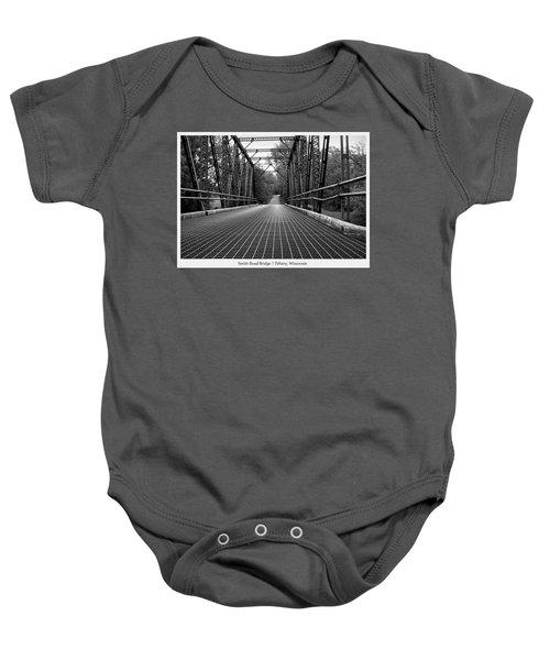 Smith Road Bridge  Baby Onesie