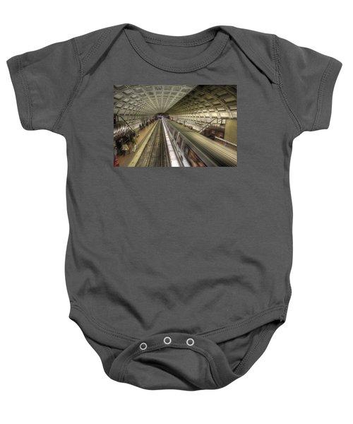Smithsonian Metro Station Baby Onesie