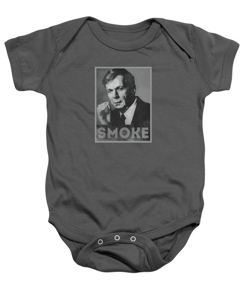 Smoke Funny Obama Hope Parody Smoking Man Baby Onesie by Philipp Rietz
