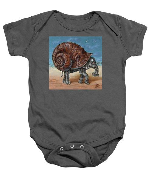 Snailephant Baby Onesie