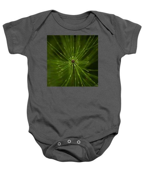 Snake Grass Baby Onesie