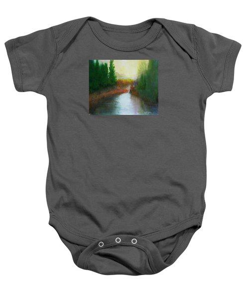Snake River Canoe Trip Baby Onesie