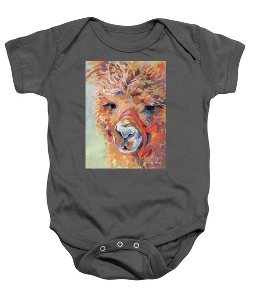 Snickers Baby Onesie by Kimberly Santini