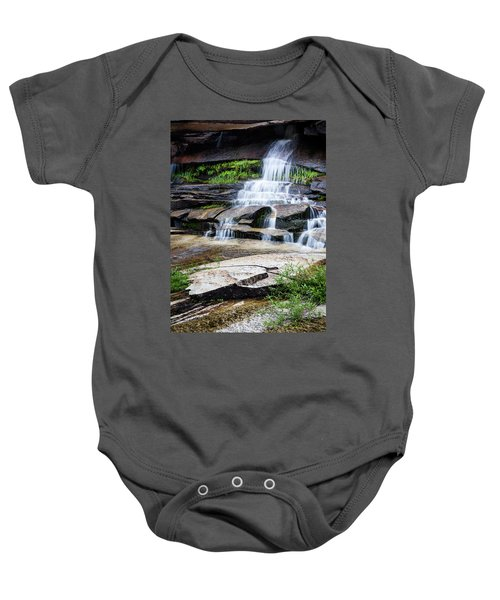 Snow Creek Cascade Baby Onesie