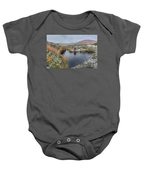 Baby Onesie featuring the photograph Snowliage by Bill Wakeley