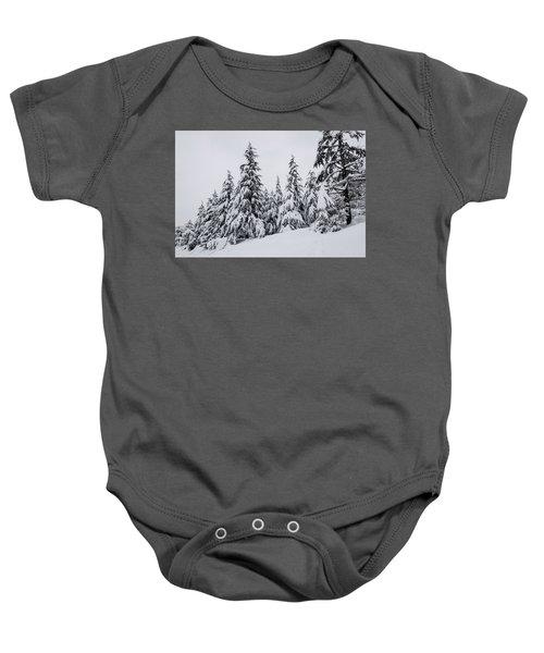 Snowy-1 Baby Onesie