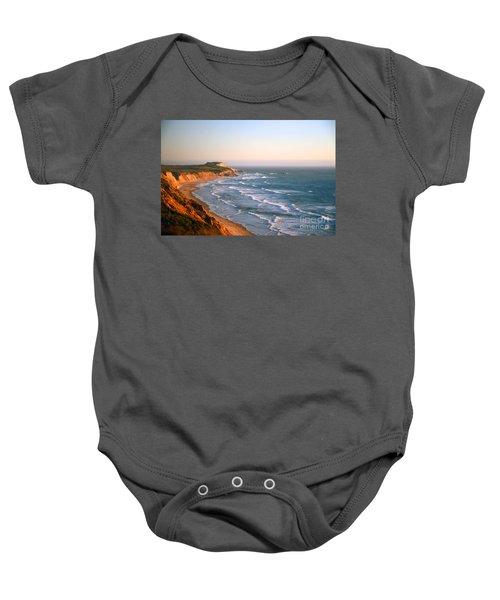 Socal Sunset Ocean Front Baby Onesie