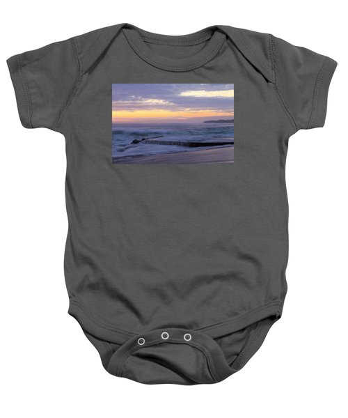 Soft Light On Victoria Beach Baby Onesie