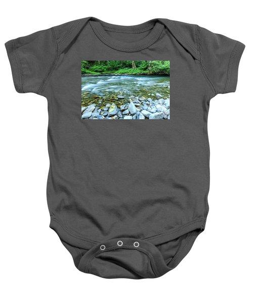 Sol Duc River In Summer Baby Onesie