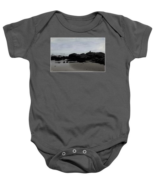 Solitude At Goose Rocks Baby Onesie