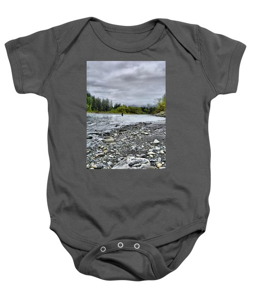 Solitude On The River Baby Onesie