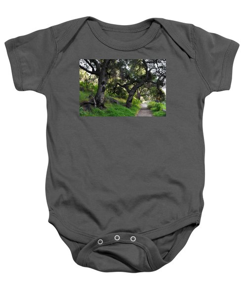 Solstice Canyon Live Oak Trail Baby Onesie
