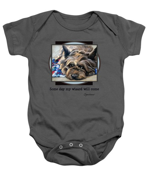 Some Day My Wizard Will Come Baby Onesie