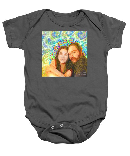 Sonia Marie And Her Sweetheart Baby Onesie
