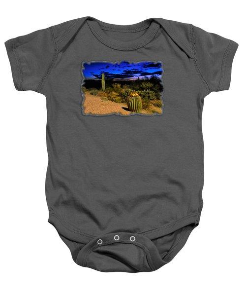 Sonoran Twilight Baby Onesie