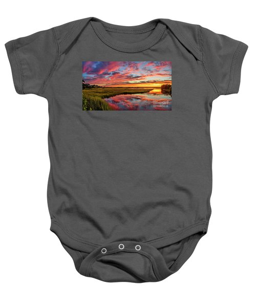Sound Refections Baby Onesie