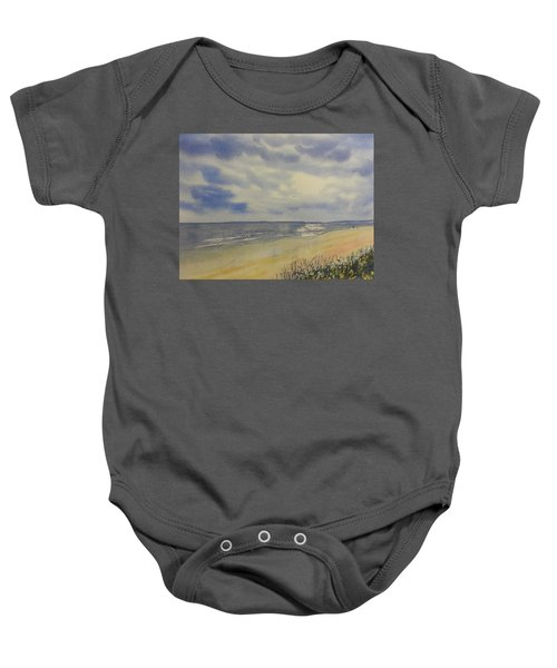South Beach From The Dunes Baby Onesie