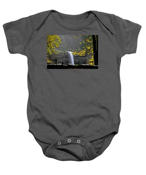 South Falls Of Silver Creek Baby Onesie
