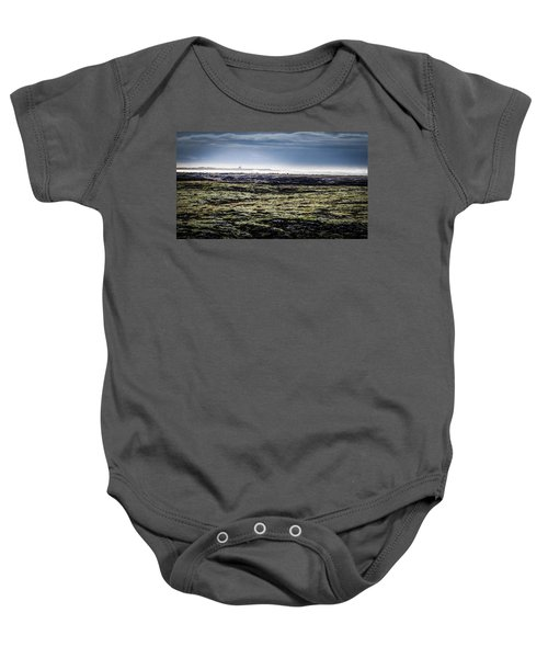 South West Iceland Baby Onesie