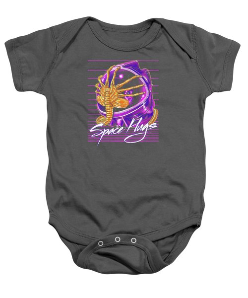 Space Hugs Baby Onesie