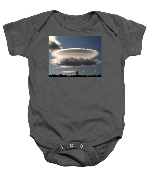 Spacecloud Baby Onesie