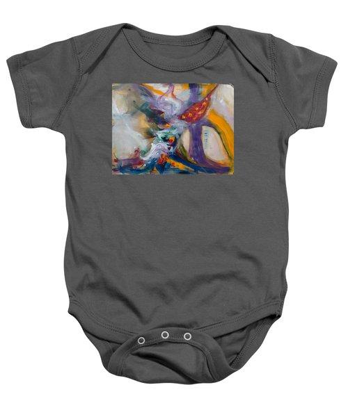 Spacial Encounters Baby Onesie
