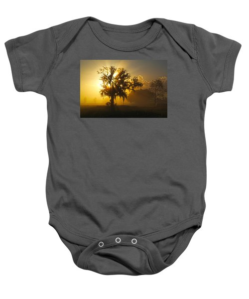 Spanish Morning Baby Onesie