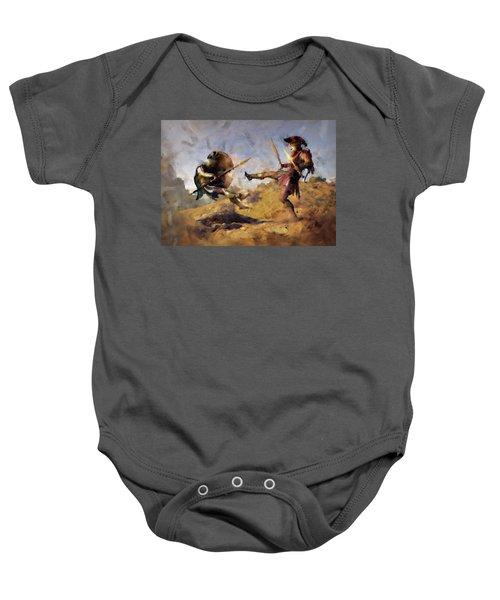 Spartan Hoplite - 12 Baby Onesie
