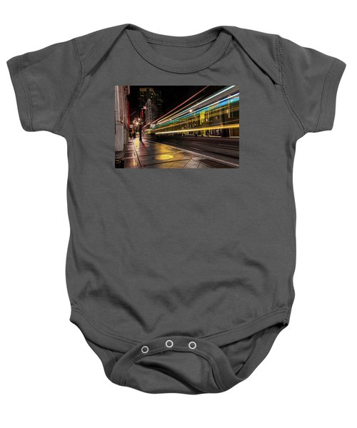 Speed Of Light Baby Onesie