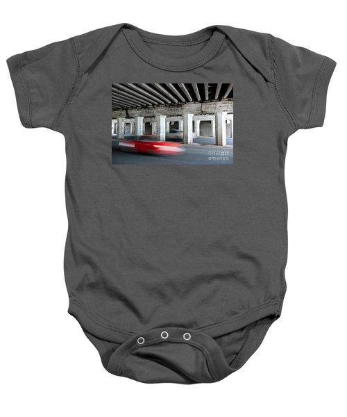 Speeding Car Baby Onesie