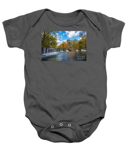 Speedwell Dam Fall Foliage Baby Onesie