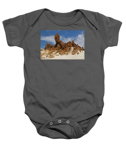 Baby Onesie featuring the photograph Sphinx Of South Australia by Stephen Mitchell