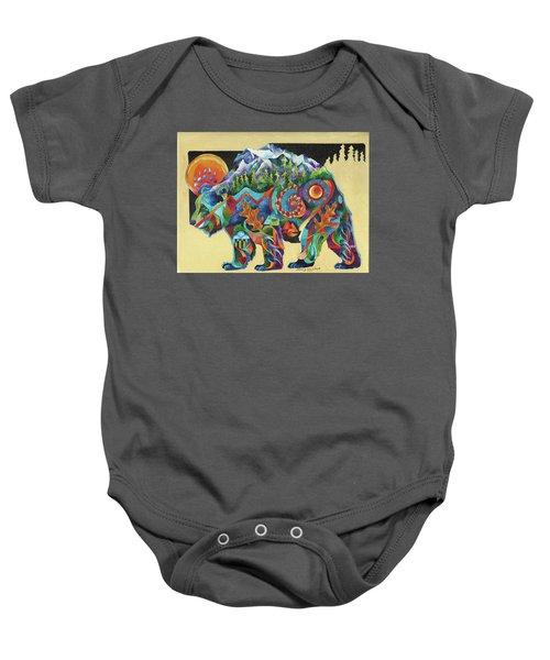 Spirit Bear Totem Baby Onesie