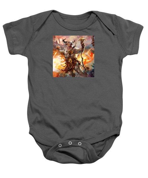 Spiritcaller Shaman Baby Onesie