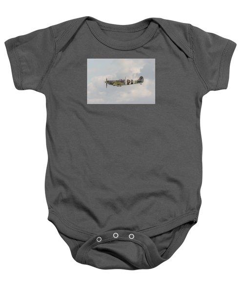 Spitfire Mk Vb Baby Onesie by Gary Eason