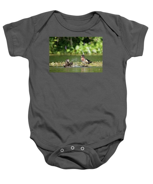 Splish Splash Baby Onesie