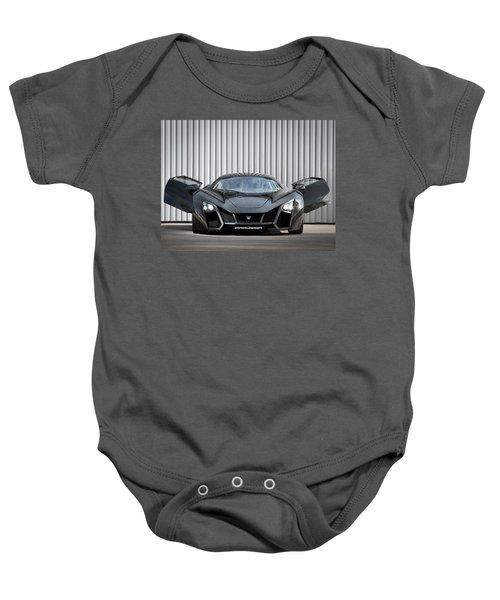 Sports Car Baby Onesie