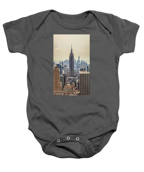 Sprawling Urban Jungle Baby Onesie