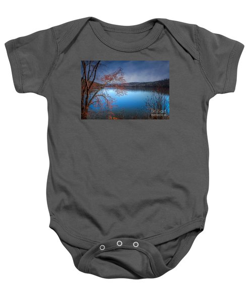 Spring At The Lake Baby Onesie