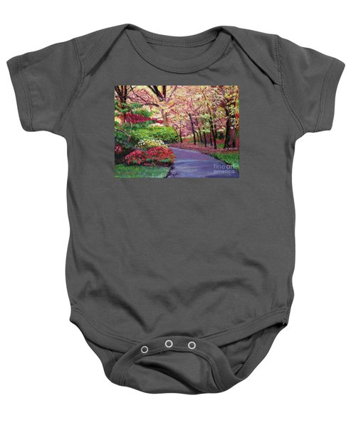 Spring Blossoms Impressions Baby Onesie