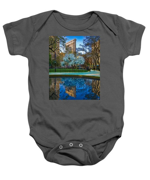 Spring In Madison Square Park Baby Onesie