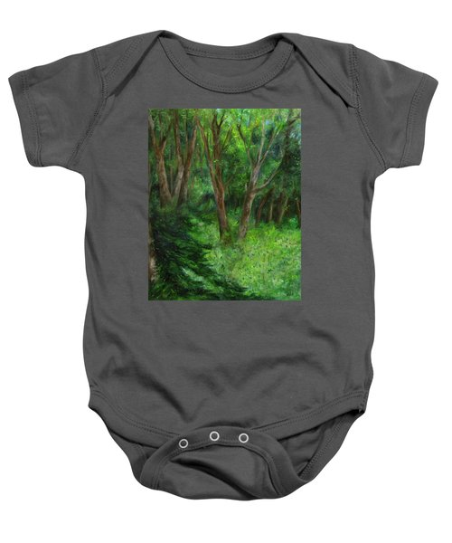 Spring In The Forest Baby Onesie