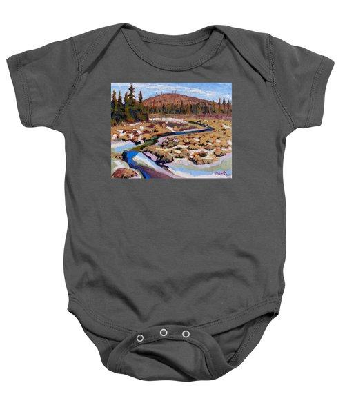 Spring Marsh Algonquin Baby Onesie
