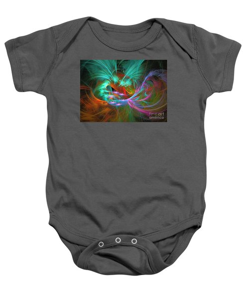 Spring Riot - Abstract Art Baby Onesie