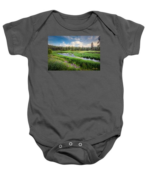 Spring River Valley Baby Onesie