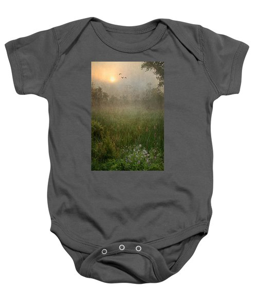 Spring Sunrise In The Valley Baby Onesie