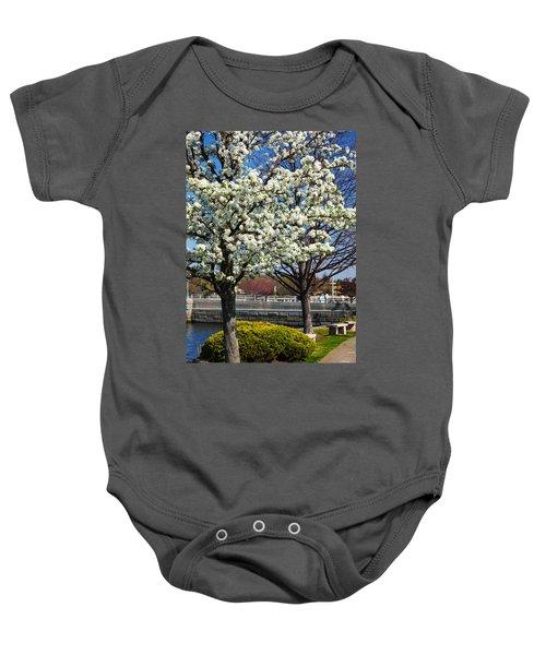Spring Time In Westport Baby Onesie