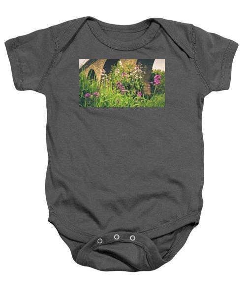 Spring Under The Arches Baby Onesie