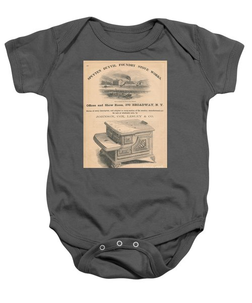 Spuyten Duyvil Stoveworks  Baby Onesie by Cole Thompson