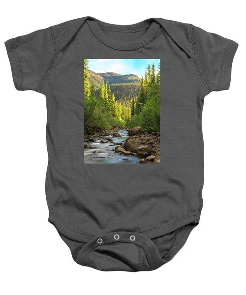 Squaw Creek, Colorado #2 Baby Onesie